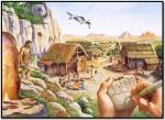 پاورپوینت درس 8 از مطالعات اجتماعی چهارم ابتدایی (نخستین روستاها چگونه بوجود آمدند)
